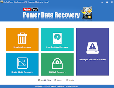 MINI TOOL POWER DATA RECOVERY 7.0 + CRACK