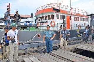 Mantap TNI AL Berhasil  Amankan Ratusan Ton BBM Ilegal di Perairan Kepri