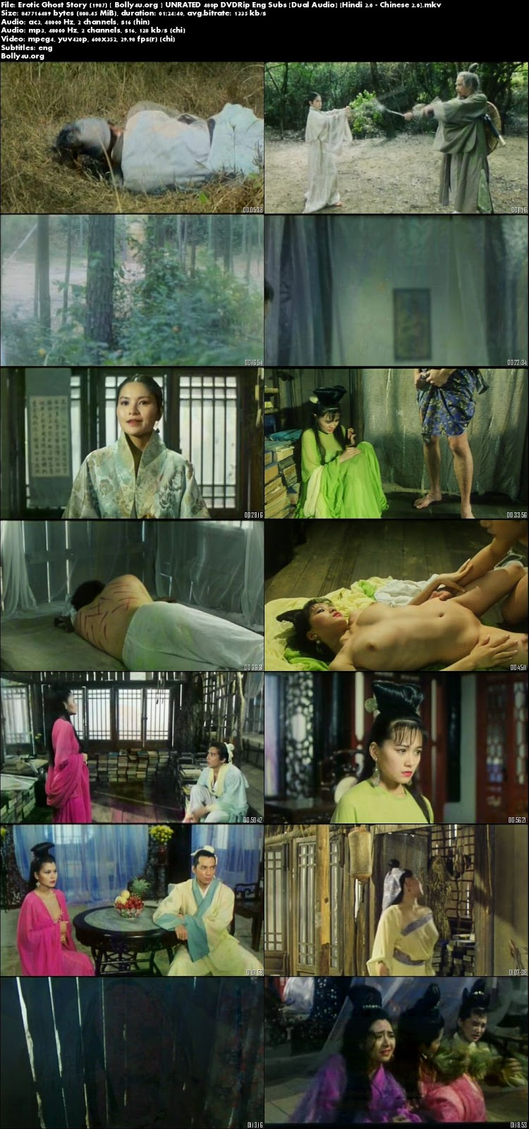 [18+] Erotic Ghost Story 1987 UNRATED 270MB Hindi Dual Audio 480p Download