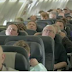 Passengers fall asleep on their flight, wake up to a completely unexpected Christmas surprise