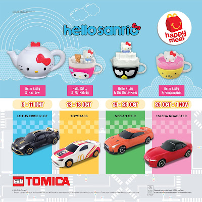 McDonald's Happy Meal Malaysia Free Hello Kitty