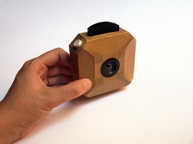 The craft camera a diy digital cardboard