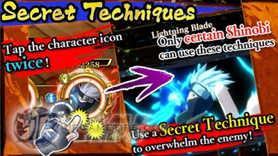 NARUTO: Ultimate Blazing: Secret Techniques
