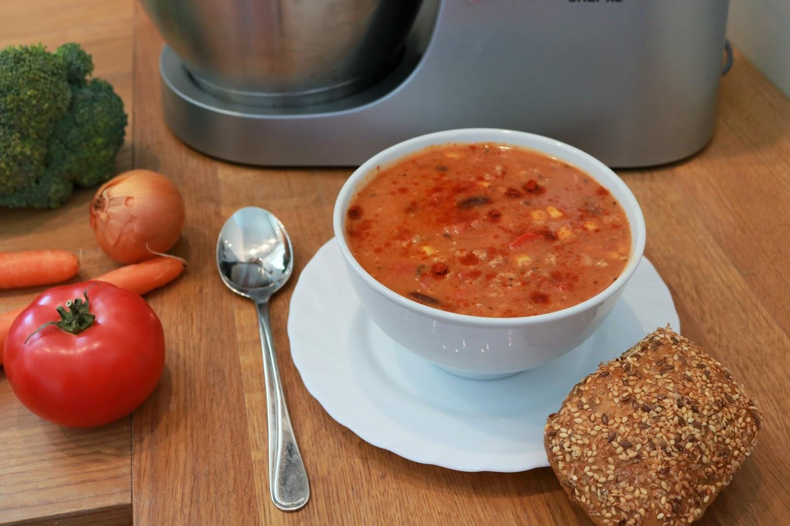 przepis na sycącą zupę z mięsem mielonym