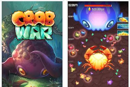 Crab War v2.1.4 Mod Apk (Unlimited Gold/Gems/Relic) Terbaru 2018