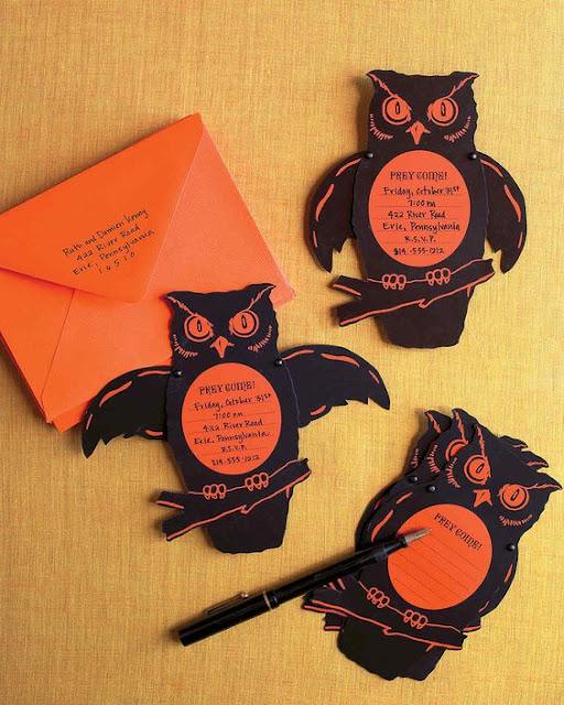 Convites aniversario halloween