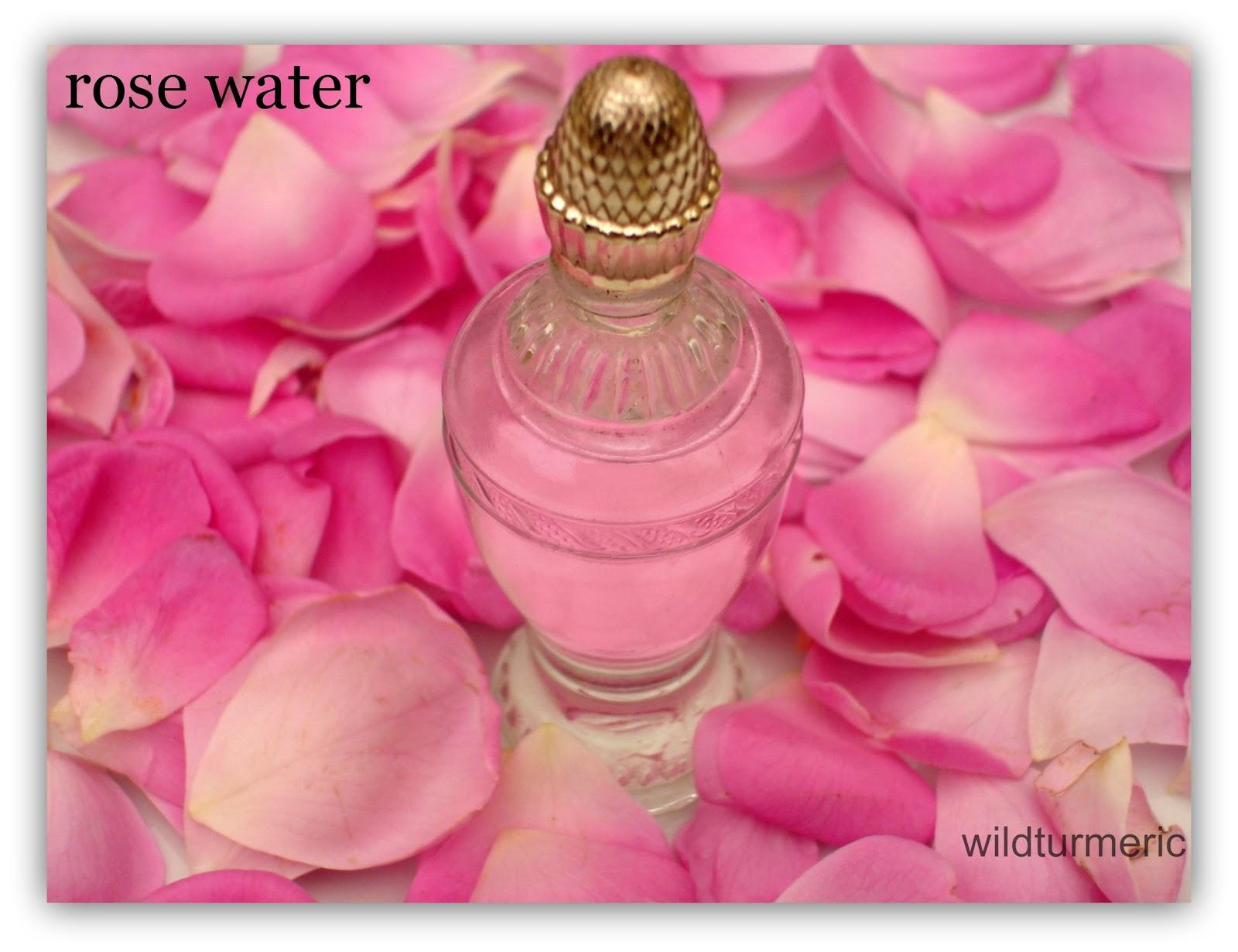 Indian Rose Water Recipe Using Paneer Roses For Face, Hair & Skin