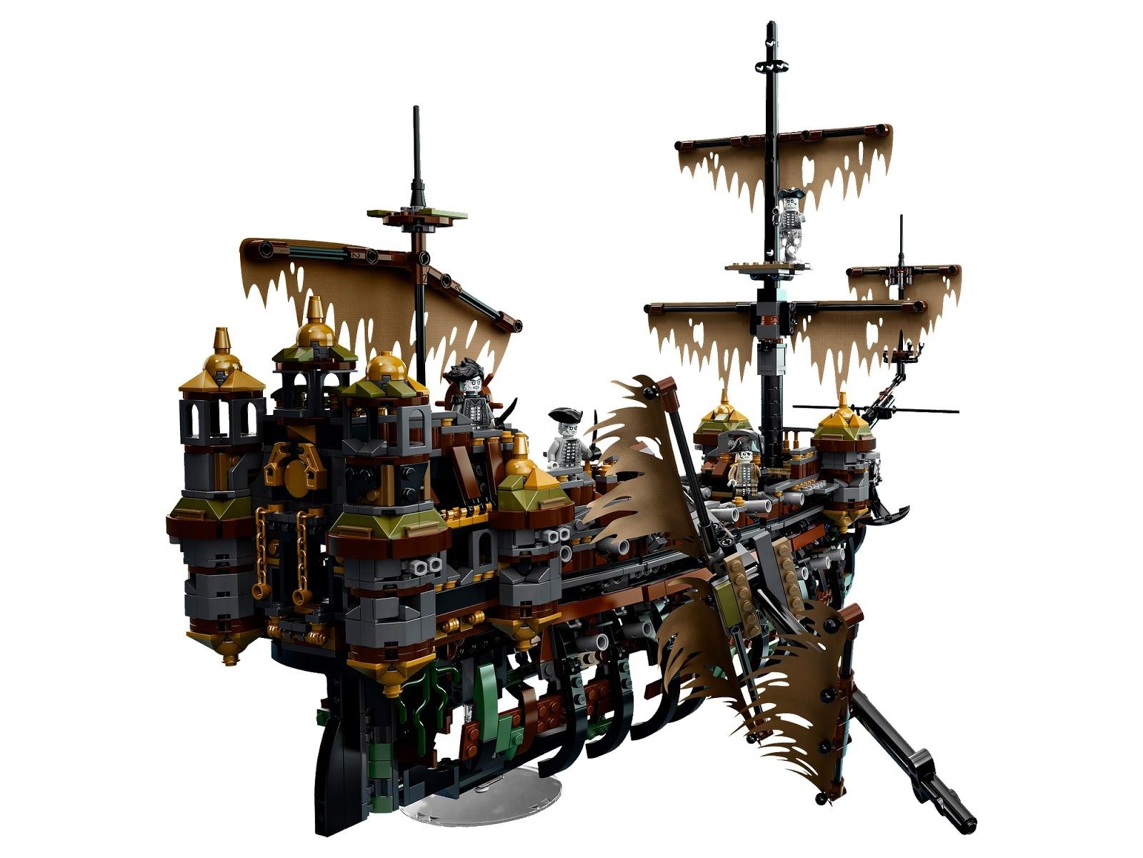 Skrzydła Gryfa Lego 71042 Silent Mary Oraz 5 Najlepszych Zestawów Z