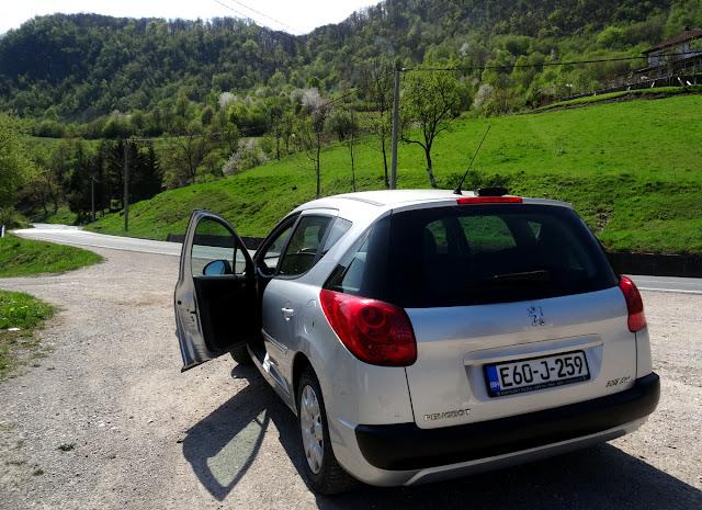 Peugeot Rental Car from Hertz in Bosnia Herzegovina