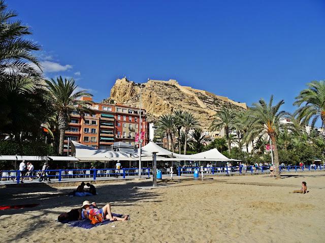 zamek Santa Barbara Alicante