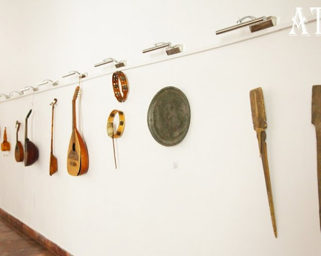 Exhibition of Albanian folk music instruments of XIX and XX in Tirana