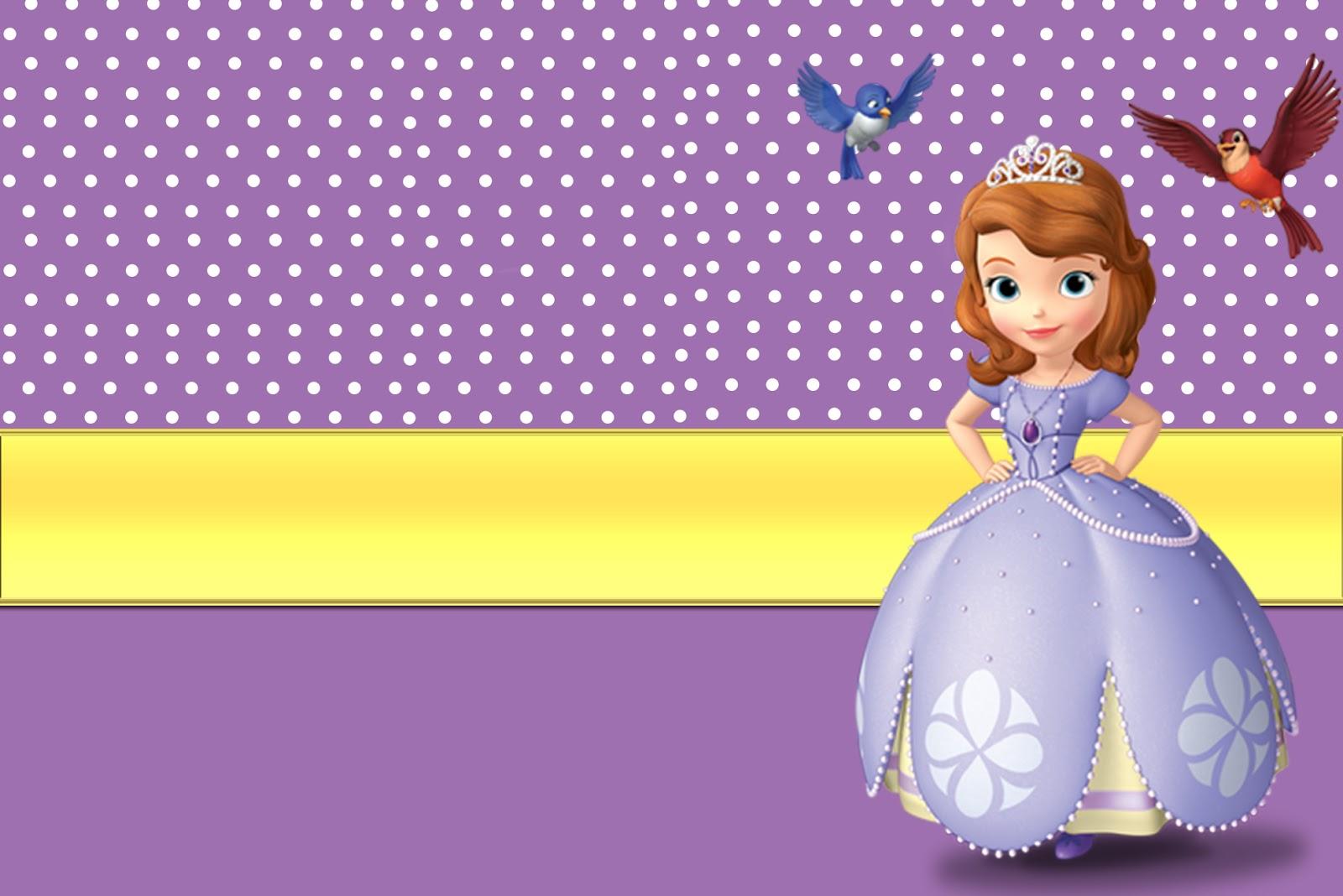 Molduras para fotos princesa sofia toda atual - Foto princesa sofia ...