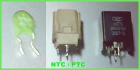 Resistor jenis NTC / PTC