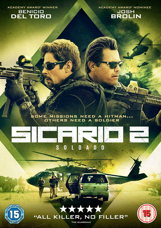 SICARIO 2: SOLDADO uk dvd