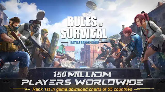 Rules Of Survival (Similar to Pubg Mobile Game) in 2018