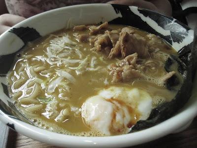 Menya Musashi, curry ramen