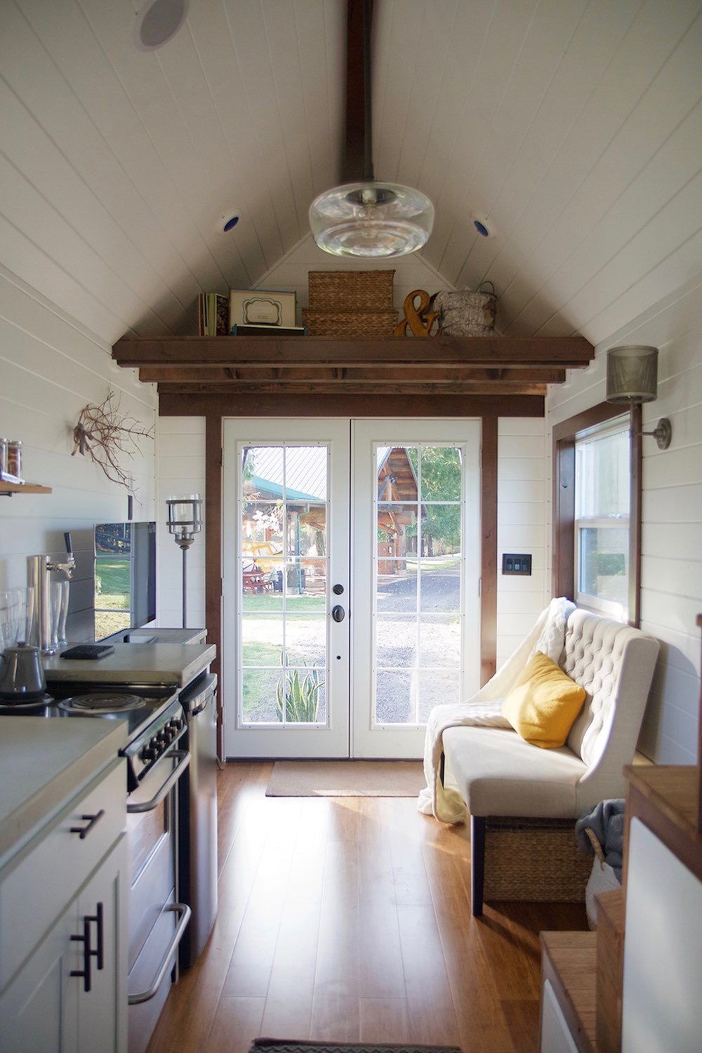 The sapphire house from tiny heirloom tiny house town - Nw Haven By Tiny Heirloom