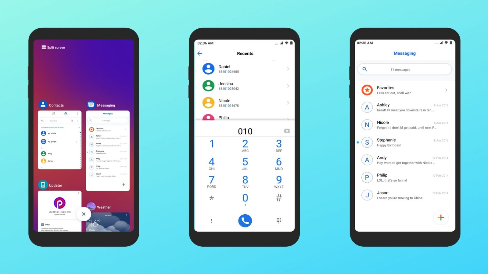 Android Q Notch theme for miui Xiaomi users