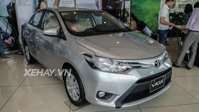 vios 15e cvt 14 - Cận cảnh Toyota Vios 1.5E CVT mới ra mắt Việt Nam