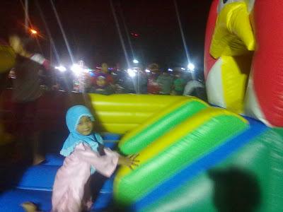 Wahana Permainan Istana Balon Di Alkid Solo