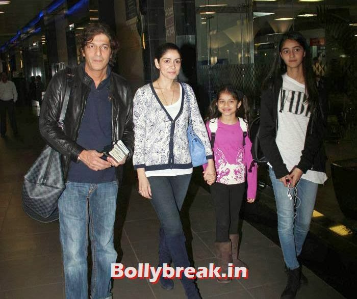 Chunky Pandey, New Year Celebrations: Various Celebs Snapped at Airport