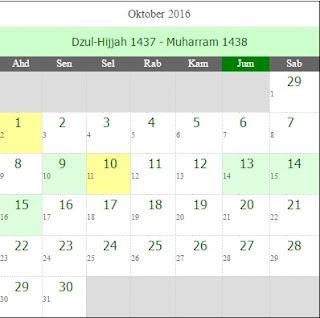 Doa Akhir Dan Awal Tahun Serta Kalendar Hijrah 1438H