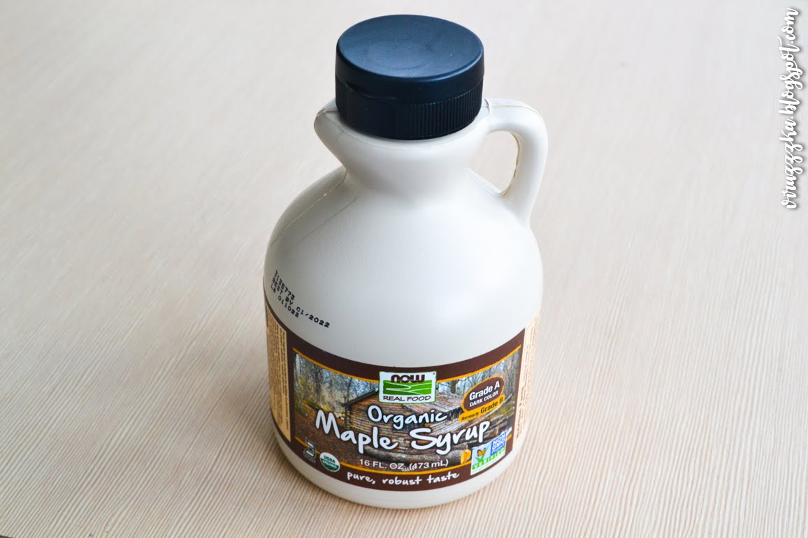 Now Foods Real Food Organic Maple Syrup iHerb