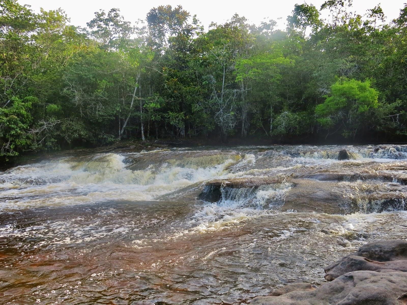 Cachoeira das Araras, em Presidente Figueiredo