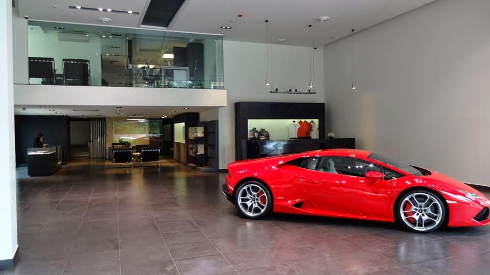Lamborghini Showroom Bangalore India