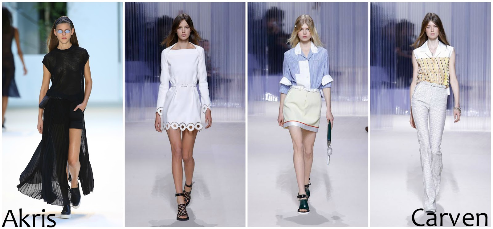Akris Carven runway fashion