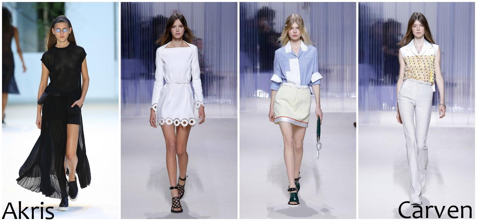 Akris Carven runway fashion