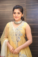 Nivetha Thamos in bright yellow dress at Ninnu Kori pre release function ~  Exclusive (56).JPG