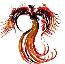 A fênix é um pássaro da mitologia grega que, quando morria, entrava em auto-combustão e, passado algum tempo, renascia das próprias cinzas.