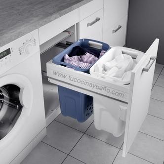 cesto ropa sucia armario cocina