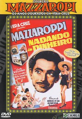 Mazzaropi: Nadando Em Dinheiro - DVDRip Nacional
