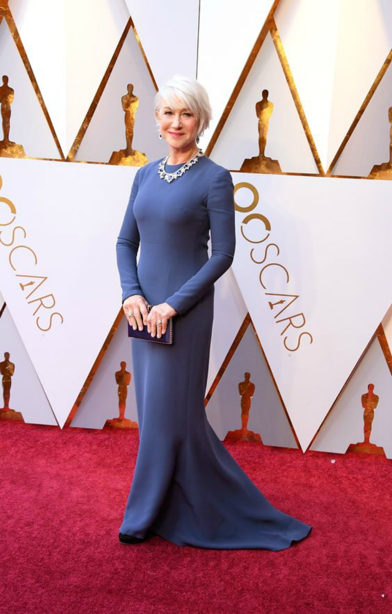 The best looks from the Oscars 2018 Helen Mirren