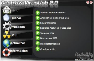 destroza virus usb 2011 gratis