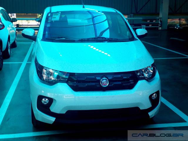 Novo Fiat Mobi Like 2017