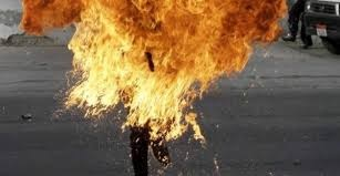 44-years old woman committed suicide by burning herself with gasoline in Tirana