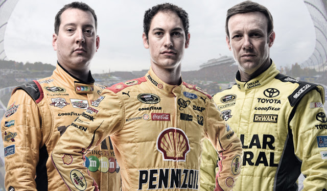Kyle Busch, Matt Kenseth and Joey Logano all have a chance to earn their first MVS Cup wins