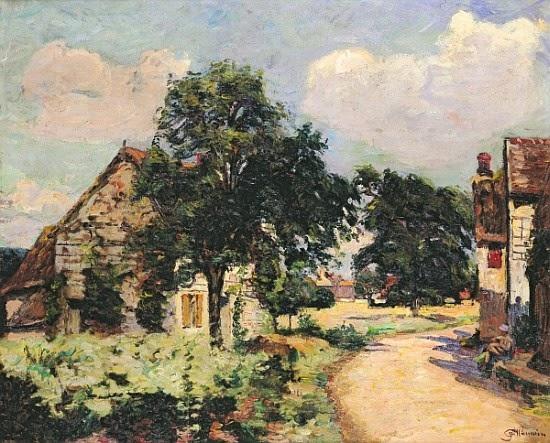 Efeito do Sol - Armand Guillaumin ~ Pintor Impressionista com cores intensas