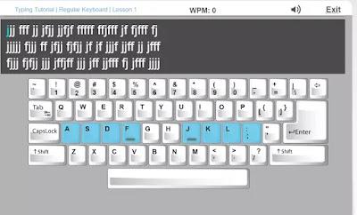 imparare a scrivere al PC
