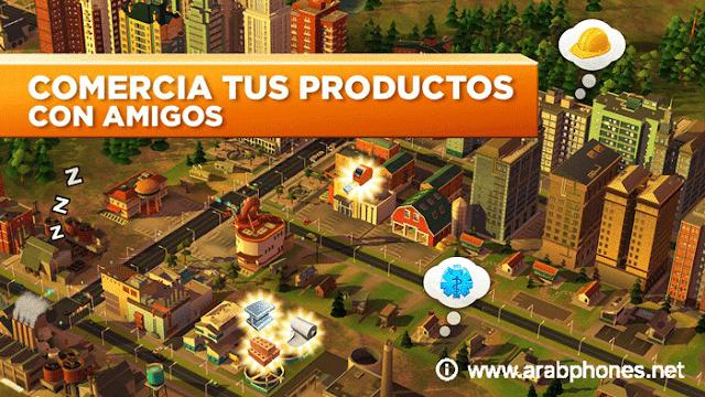 تحميل لعبة SimCity BuildIt مهكرة اخر اصدار apk