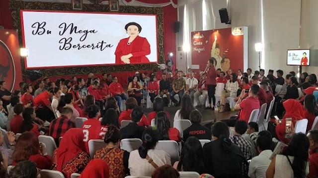 Di Depan Milenial, Megawati Cerita Hubungan Baiknya dengan Prabowo
