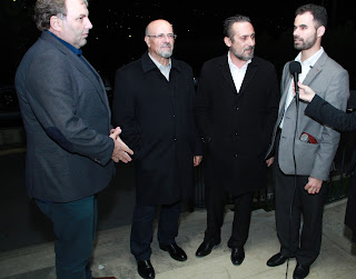 Ο Γιώργος Βρέντζος με τους διοργανωτές