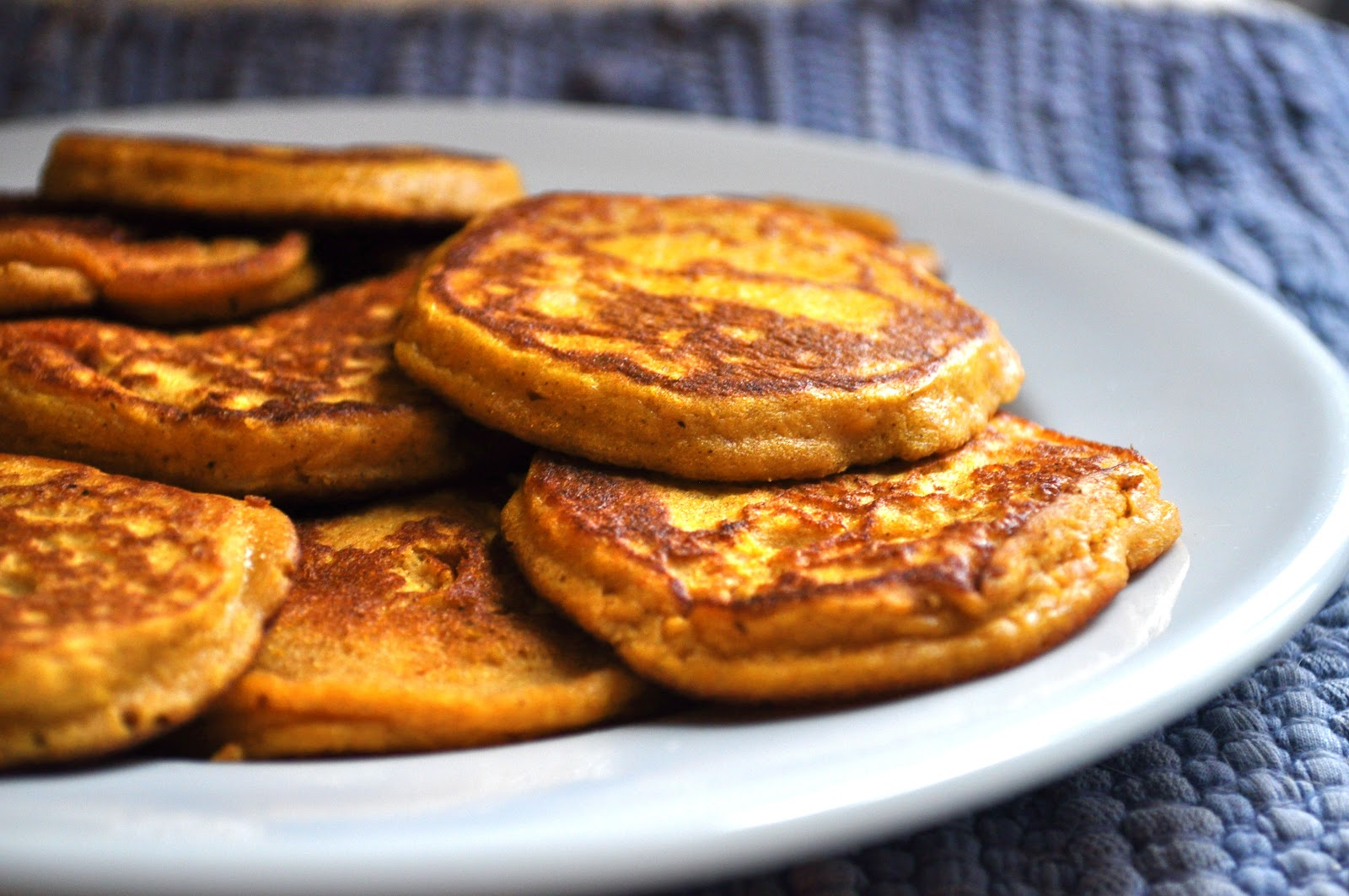 Dreaming In Butterscotch Sweet Potato Pancakes