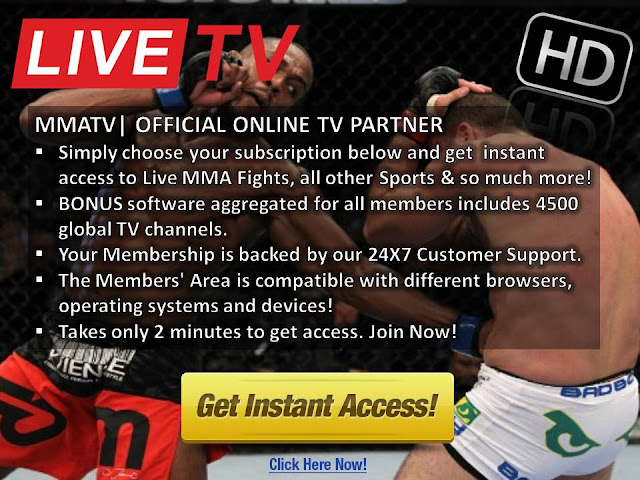 Watch UFC on FOX 18 Live