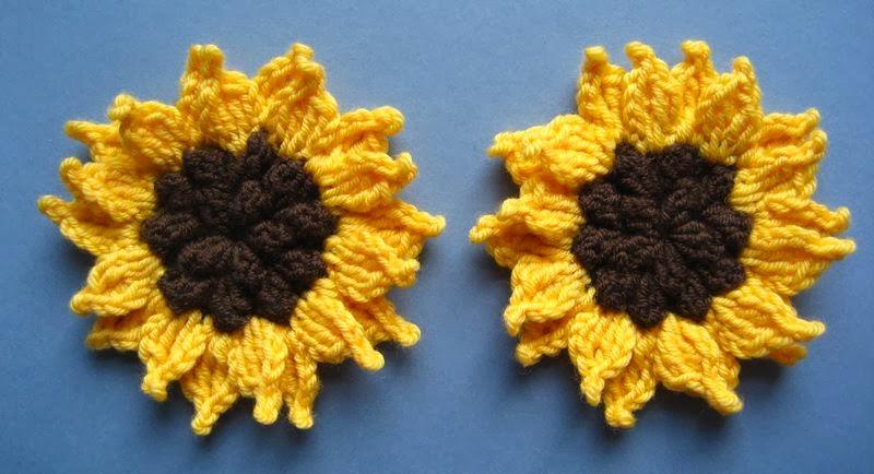 Flores en crochet varios patrones paso a paso patrones for Cosas de ganchillo faciles