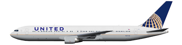 kaese2002.de: United Airlines (UAL-reg) Boeing 767-300