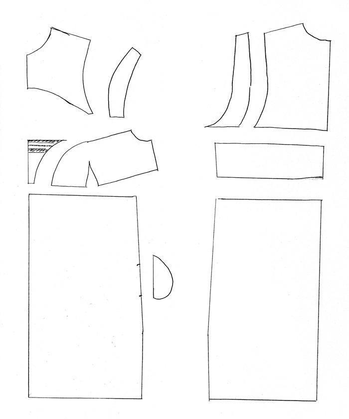 Mein Kleiderschrank wird Prada – Schnittmuster – Julia Jamei